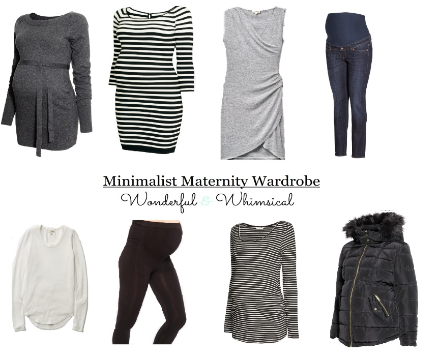 minimalist maternity wardrobe123